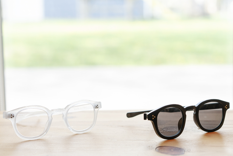 "Flint, MI - Wednesday, May 9, 2018: Genusee's first frame style, the Roeper, was ""democratically designed"" and intended to look good on everyone. The first run will be available in two colors with either single-prescription or tinted lenses."