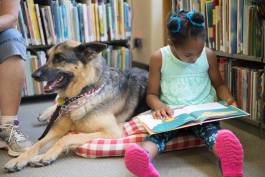 While it maybe the most adorable reading program you'll ever see, Tell-A-Tail also is effective. Flint Public Library will host additional Tell-A-Tail events July 8, 15, and 22.