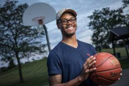 Jonathan Blanchard, a Flint native and Kettering University senior, has developed a unique children's program that focuses on their passion for basketball to teach them STEM skills.