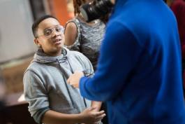 "Kevelin B. Jones III, a student at Doyle-Ryder Elementary School in Flint, is performing in ""The Bodyguard"" musical touring nationally. He is cast as Fletcher, the main character's son."