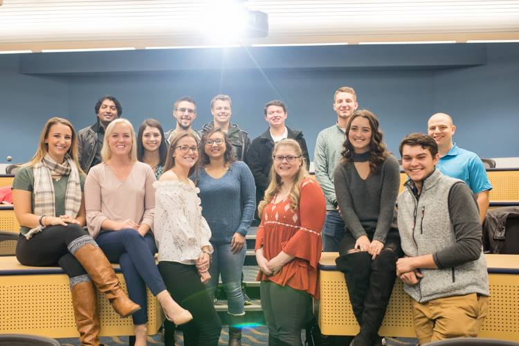 Members of the University of Michigan-Flint's Entrepreneurs Society recently brought back a national award—second place for cross campus involvement from the College Entrepreneurship Organization conference.