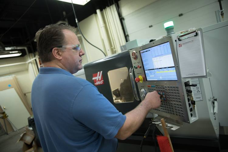 """With the skills that I've learned with the CNC (manufacturing equipment), I've got three companies who are really interested and ready to hire me on the spot once I finish the program,"" says Steve Terry, a student in MCC's Workforce Development Prog"
