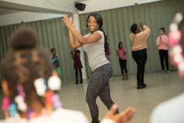 Porcha Clemons, 27, offers free dance classes for Flint children aged 5 to 19 two days a week.