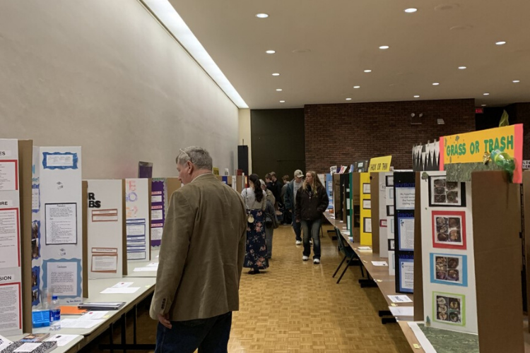 The science fair, held annually at Kettering University for over two decades, host a vide variety of science fair projects from students across the state of Michigan. It is here that students showcase their solutions to community problems.