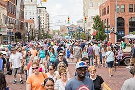 Back to the Bricks is one of several special events that draw thousands of people to downtown Flint over the summer. (File photo)