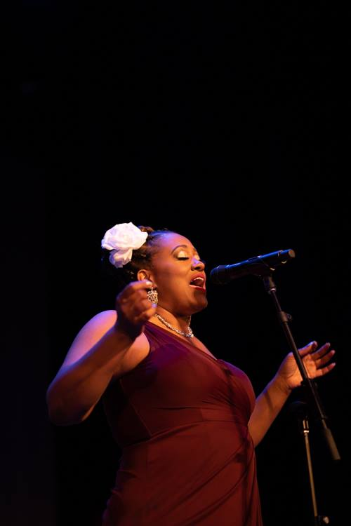 "Cherisse Bradley presents — and performs in ""I Found My Voice"" — an annual tribute to survivors of sexual and domestic violence."