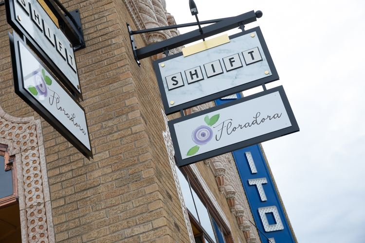 Shift and Floradora opened in May in the corner space of the Capitol Theatre.