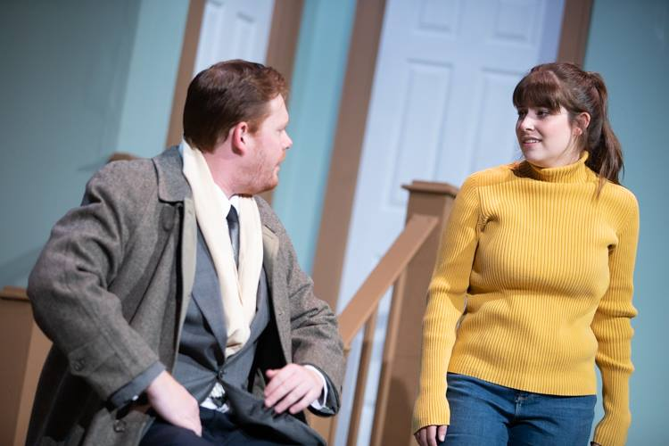 "The second show in the Flint Community Players' 90th season is Neil Simons' ""Barefoot in the Park."""