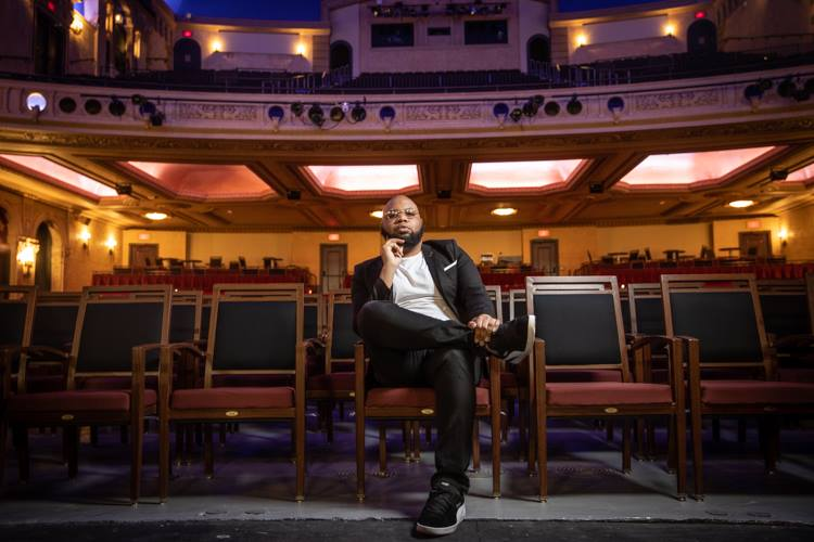 Brandon Corder, better known as B. Corder, brought his national music promotions company to Flint with Wale at the Capitol Theatre -- but he's just getting started.