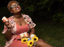 La'Asia Johnson, 25, has steeped herself in all-natural skin care, educating customers about natural ingredients and the magic that can happen when you mix them all together.