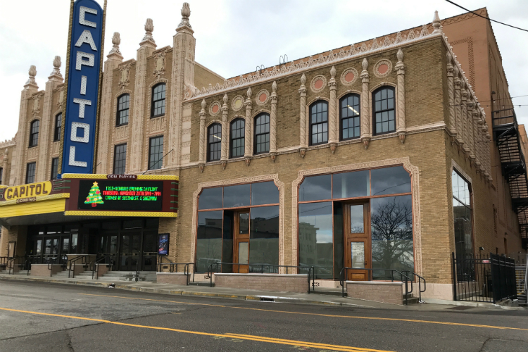 Husband-wife team Spencer Ruegsegger and Kristy Bearse are planning to open an arcade bar inside the newly renovated Capitol Theatre in 2019.