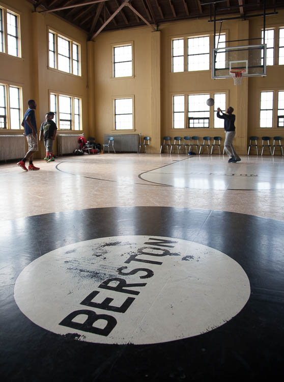 The basketball gym at Berston Field House in Flint has a rich heritage of high caliber competition.