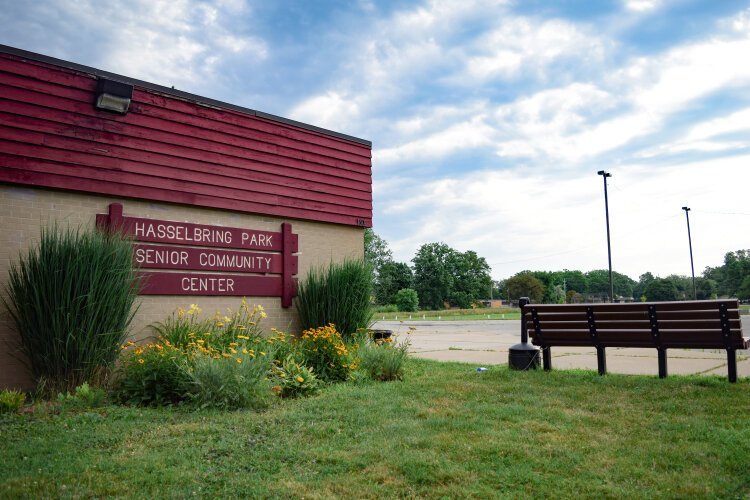 Almost a half-mile long, Hasselbring Park shares its name with the Hasselbring Senior Center and stretches almost as far as the eye can see into Brownell-Holmes' northern border with Carpenter Road.