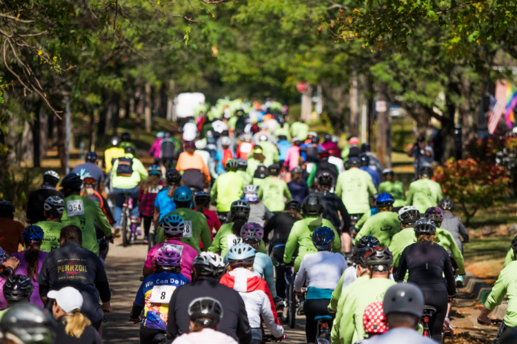 Riders hit the streets for the Crim Fitness Foundation's annual bicycle race. This year the event is being transformed into Flint Cycle Fest with different distances and routes.