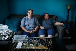 Vanilla Amaya and Billy Evaristo have lived in Eastside Franklin Park for more than 50 years.