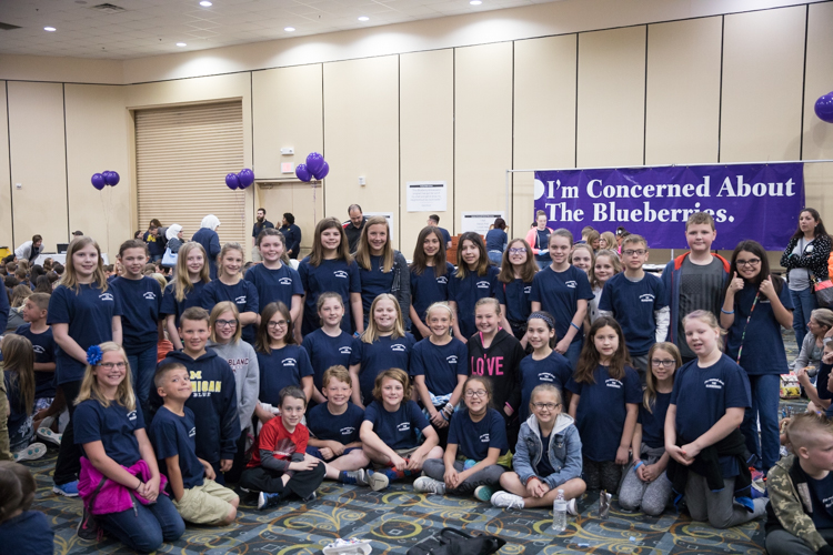 The Blueberry Ambassador 2016-17 Awards Ceremony and Pizza Party at Riverfront Conference Center on May 19, 2017.