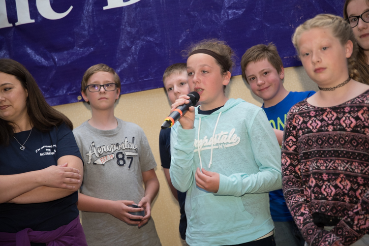 Students from Seymour Elementary talk about how influential Maureen Shipley is.