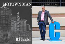 Local author Bob Campbell released his first book in November.