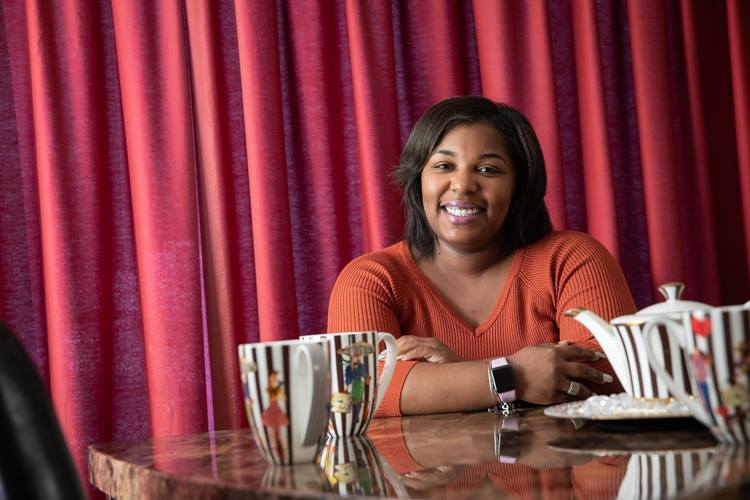 Chia Morgan founded the annual communitywide Thanksgiving dinner at just 22 years old.