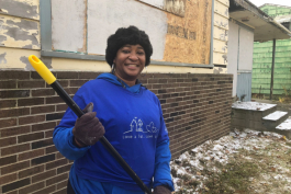 Sandra Johnson serves as project manager for the Hamilton Community Health Network's $1 million federal grant to reduce crime in north Flint.