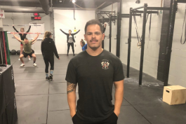 Jake Saldana opened Flint's first CrossFit gym in August on University Avenue.