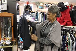 Barbara Culp, owner of N'Dpanda Consignments and Resale Shop, has been assisted by a Restart Flint grant.