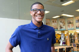 DeEsmond Lewis Jr. is a Gates Scholar, valedictorian of Carman-Baker Career Academy, and headed to Stanford University in the fall.