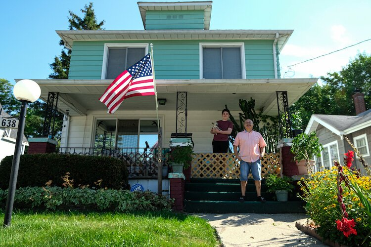 The Reyes home on Bishop Avenue has witnessed four generations with Ricky Reyes now raising his grandson in his childhood home that he bought in 1984, initially bought in 1960.