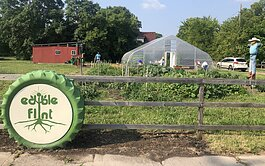 Edible Flint's Educational Farm is located near 12th and Beach streets in Flint.
