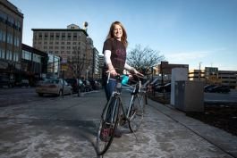 Emily Doerr will launch Flint City Bike Tours on June 1 with six bicycle tour options.