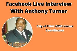 Flint is his hometown and this isn't his first go-round with engaging his city in the census process. The goal, Turner said, is to ultimately exceed expectations no matter what.