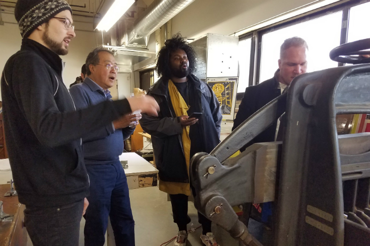Yo-Yo Ma up close and personal in Flint — including lots of
