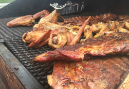 Fat Boi BBQ serves up ribs, turkey, sausage and chicken at 6801 N. Saginaw St. in Flint.