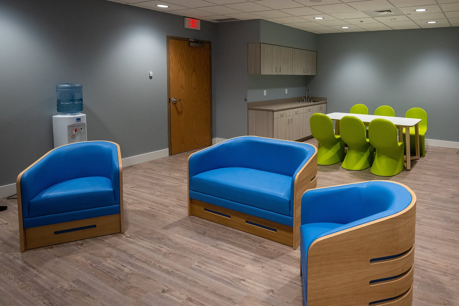 The 23-hour crisis stabilization unit at LifeWays Community Mental Health's new mental health crisis service center, funded by Jackson County's mental health millage.