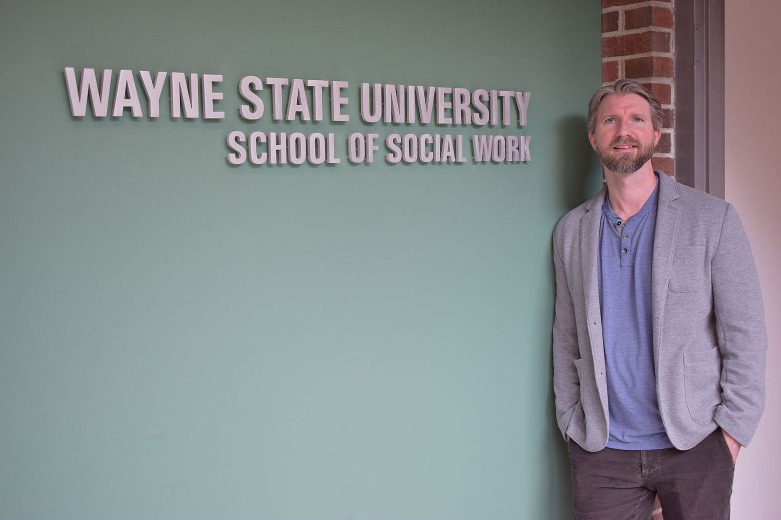 Brad Ray, director of the Wayne State University Center for Behavioral Health and Justice.