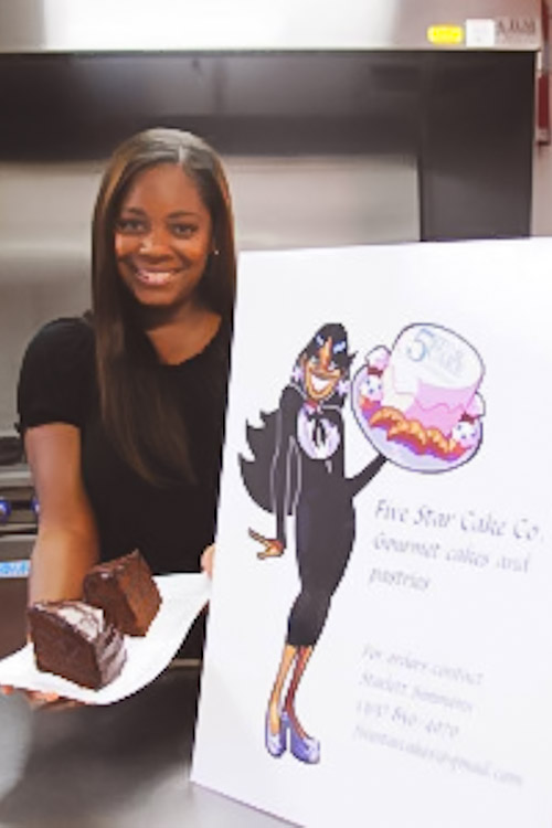 Starlett Simmons of Five Star Co. Dessert Boutique & Bakery