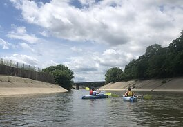 Kayak Flint had a record-breaking number of people kayak the Flint River from their launch this summer.