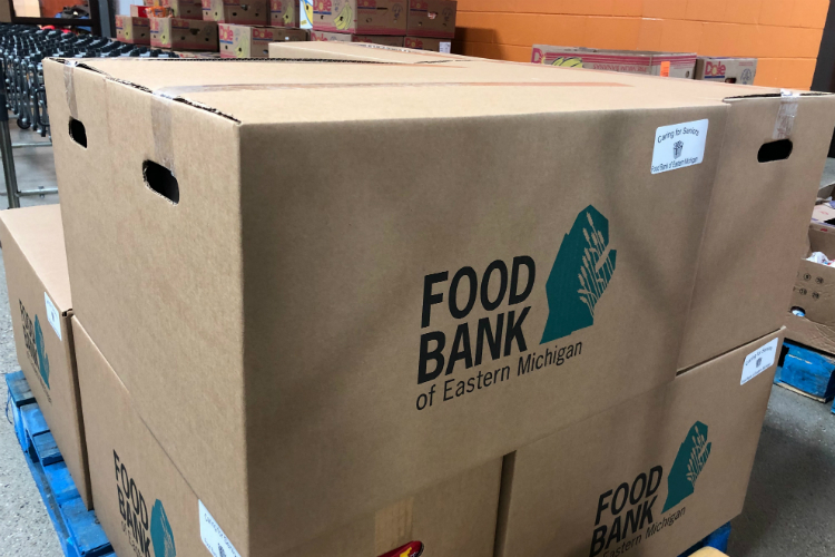 The Food Bank of Eastern Michigan hopes to raise $725,000, enough to give away 4.3 million means.