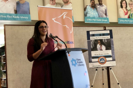 "Michigan Humanities announced Dr. Mona Hanna-Attisha's book ""What the Eyes Don't See"" is this year's Great Michigan Read"