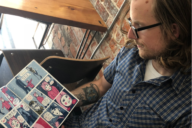 "Jonathan Diener developed ""Hope: A Comic for Flint"" to bring more attention to the city's assets."