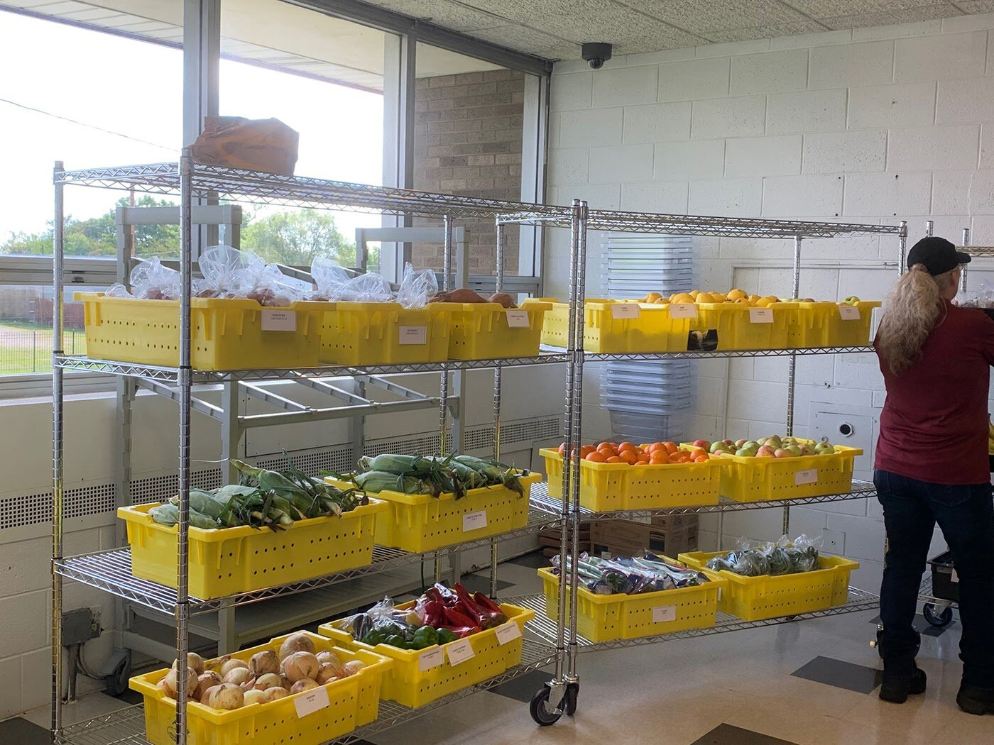 Every Thursday from 4:30 p.m. to 7:00 p.m. Flint Fresh brings a large offering of perishable goods that SBEV families and the greater public can purchase at a discounted price.
