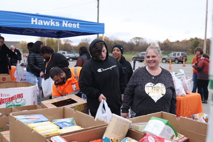Best Food Forward giveaway Oct. 29 at McMonagle Elementary.