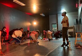 Flint native Jesse Davis teaches heels and Hip Hop classes in Flint and Detroit.