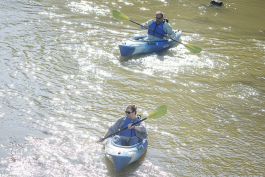 Kayak Flint, a project of the Corridor Alliance, introduced kayaking on the Flint River in 2018.