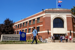 100 years after being founded, this original building remains the main academic building at Kettering University.