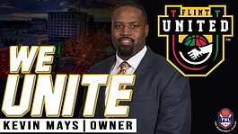 Flint United owner Kevin Mays