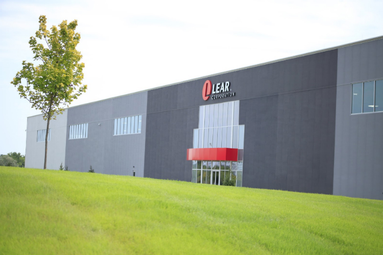 The Lear facility is located along Stewart Avenue in Buick City.