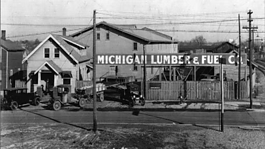 A historic look at Flint's Michigan Lumber Company.