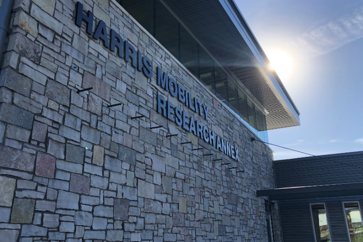 Construction at Kettering University's new Harris Mobility Research Center is expected to be completed before winter and bring a unique state-of-the-art asset to the university.