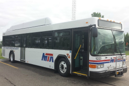 The Mass Transportation Authority already received 13 and soon will add another 22 new compressed natural gas buses to its fleet.